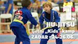 "1. JIU-JITSU ljetni ""Kids"" kamp - Zadar"