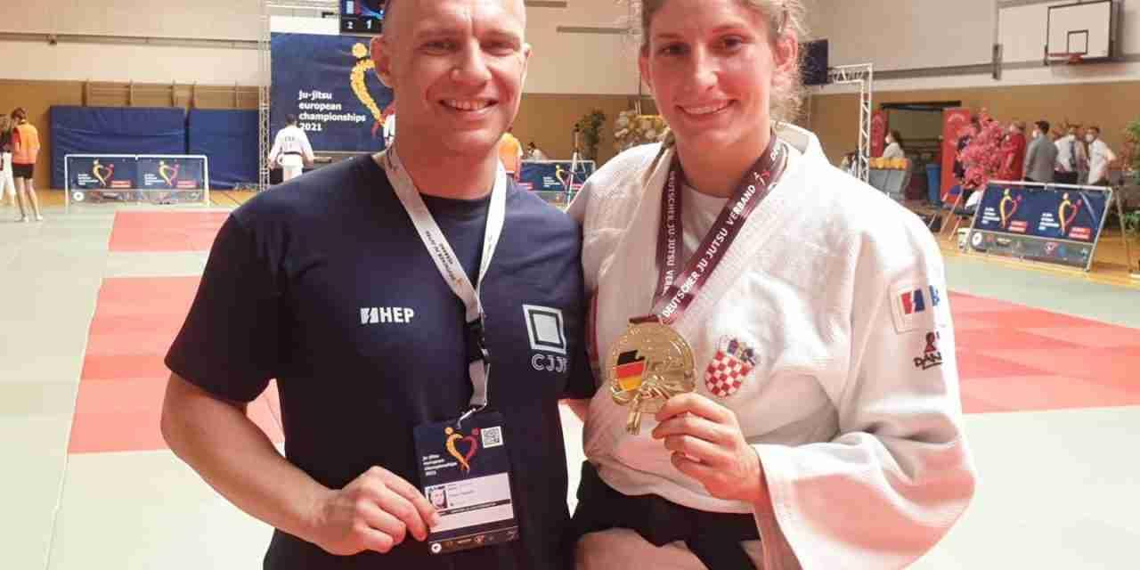 Nadina Biljanović postaje prva hrvatska europska prvakinja